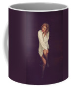 White Button-down Coffee Mug by Laurie Search