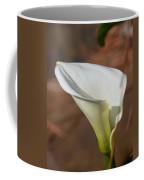 White Calla Lily Coffee Mug