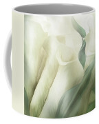 White Calla Moods Coffee Mug