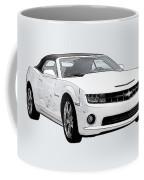 White Camaro Coffee Mug