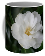 Snow White Camellia Coffee Mug