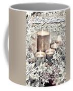White Christmas Coffee Mug by Mo T