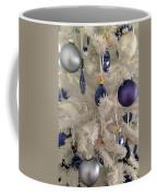 White Christmas Tree Coffee Mug