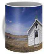 White Church Chapel  On Prairie Coffee Mug