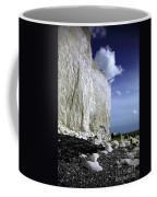 White Cliffs At Birling Gap Coffee Mug