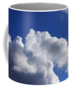 White Clouds Art Prints Blue Sky Coffee Mug