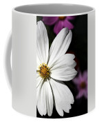 White Coreopsis Coffee Mug