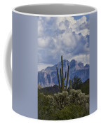 White Cotton Candy Clouds  Coffee Mug