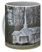 White Country Church Series Photo B Coffee Mug