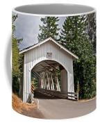 White Covered Bridge Hannah Bridge Art Prints Coffee Mug