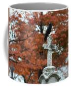 White Cross Coffee Mug