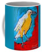 White Crow Coffee Mug
