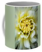 White Dahlia Coffee Mug