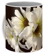 White Daisies In Sunshine Coffee Mug