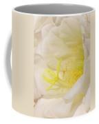 White Delicate Cactus Flower Coffee Mug
