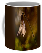 White Dogtooth Violet Coffee Mug