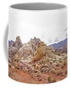 White Domes Panorama Coffee Mug