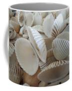 White Double Ark Shells Coffee Mug