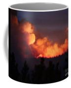 White Draw Fire First Night Coffee Mug