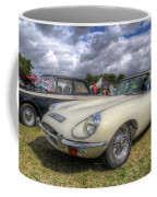 White E-type Coffee Mug
