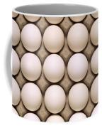 White Eggs In Carton Coffee Mug