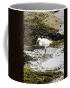 White Egret Coffee Mug