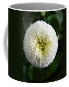 White English Daisy Coffee Mug