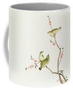 White Eye Bird Coffee Mug