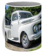 White F-1 Coffee Mug