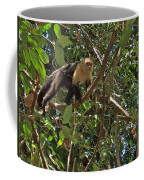White-faced Capuchin Monkey In Manuel Antonio National Preserve-costa Rica Coffee Mug