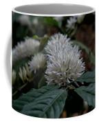 White Flower Coffee Mug