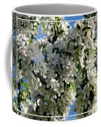 White Flowering Crabapple Tree Coffee Mug