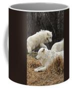 White Furs Coffee Mug