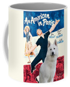White German Shepherd Art Canvas Print - An American In Paris Movie Poster Coffee Mug