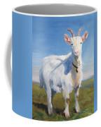 White Goat Coffee Mug
