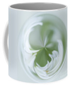 White Green And Round Coffee Mug