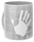 White Hand White Coffee Mug