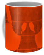White Hands Orange Coffee Mug