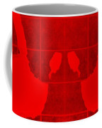 White Hands Red Coffee Mug