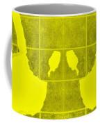 White Hands Yellow Coffee Mug