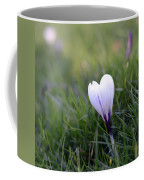 White Heart Coffee Mug