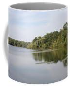 White Heron Lake Poconos Pa II Coffee Mug by John Telfer