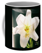 Easter Lily Up Close, Bermuda Coffee Mug