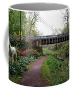 White Horse Canal Coffee Mug