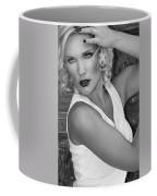 White Hot Bw Palm Springs Coffee Mug