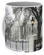 White House Christmas Coffee Mug