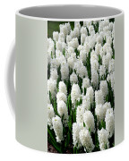 White Hyacinths Coffee Mug