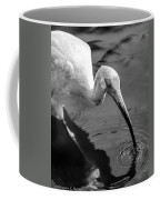 White Ibis - Bw Coffee Mug