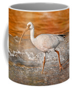 White Ibis Stroll Coffee Mug