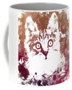 White Kitty Coffee Mug